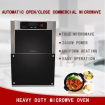 drop-down door microwave oven