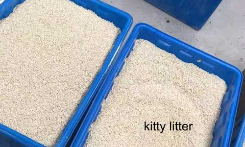 microwave drying kitty litter